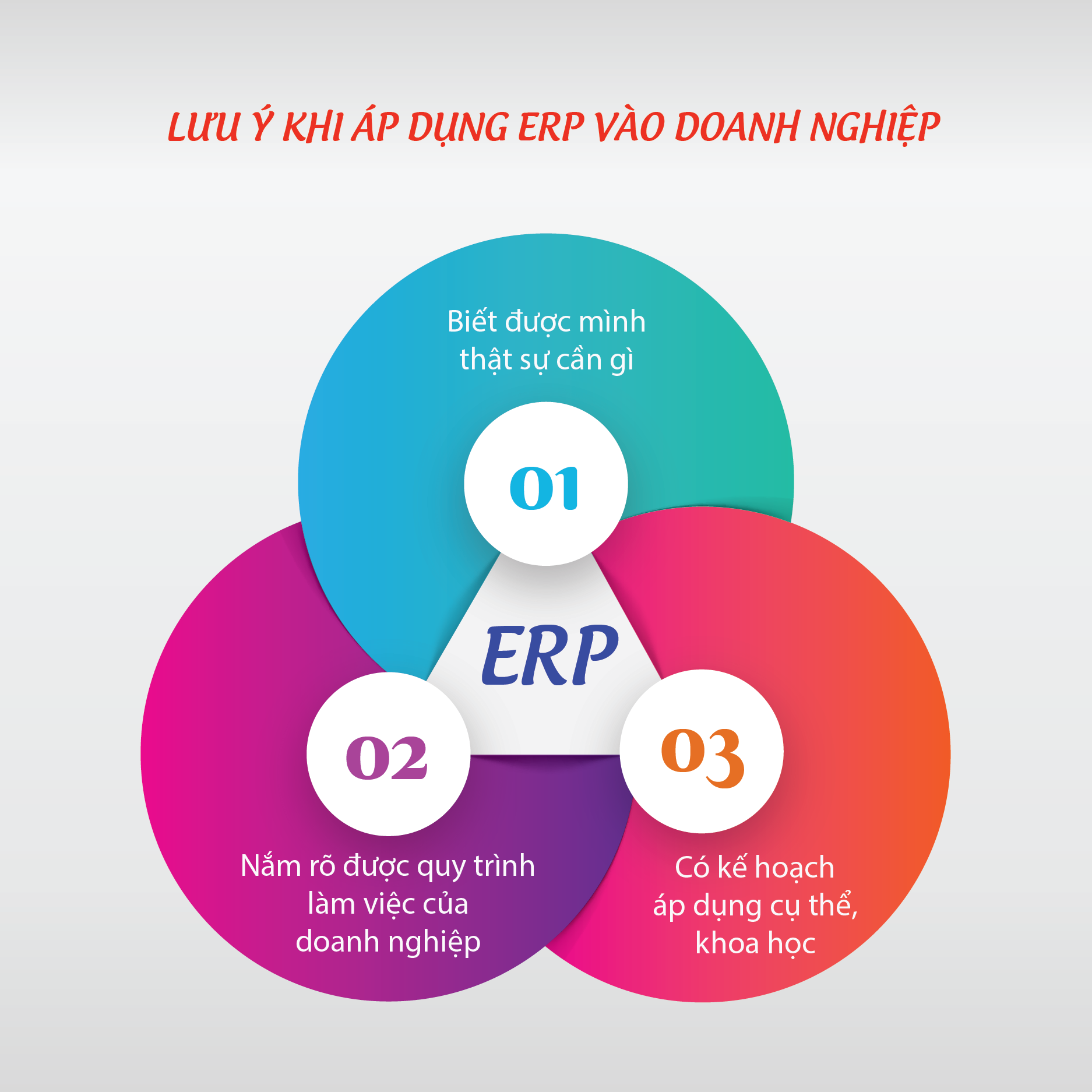 luu y khi ap dung ERP vao doanh nghiep
